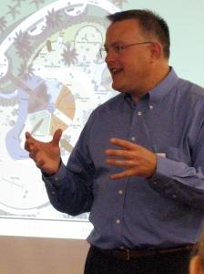 Steve Koch, principle archictcht of the project